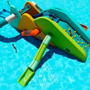 New concept for children's pools: SlideWall