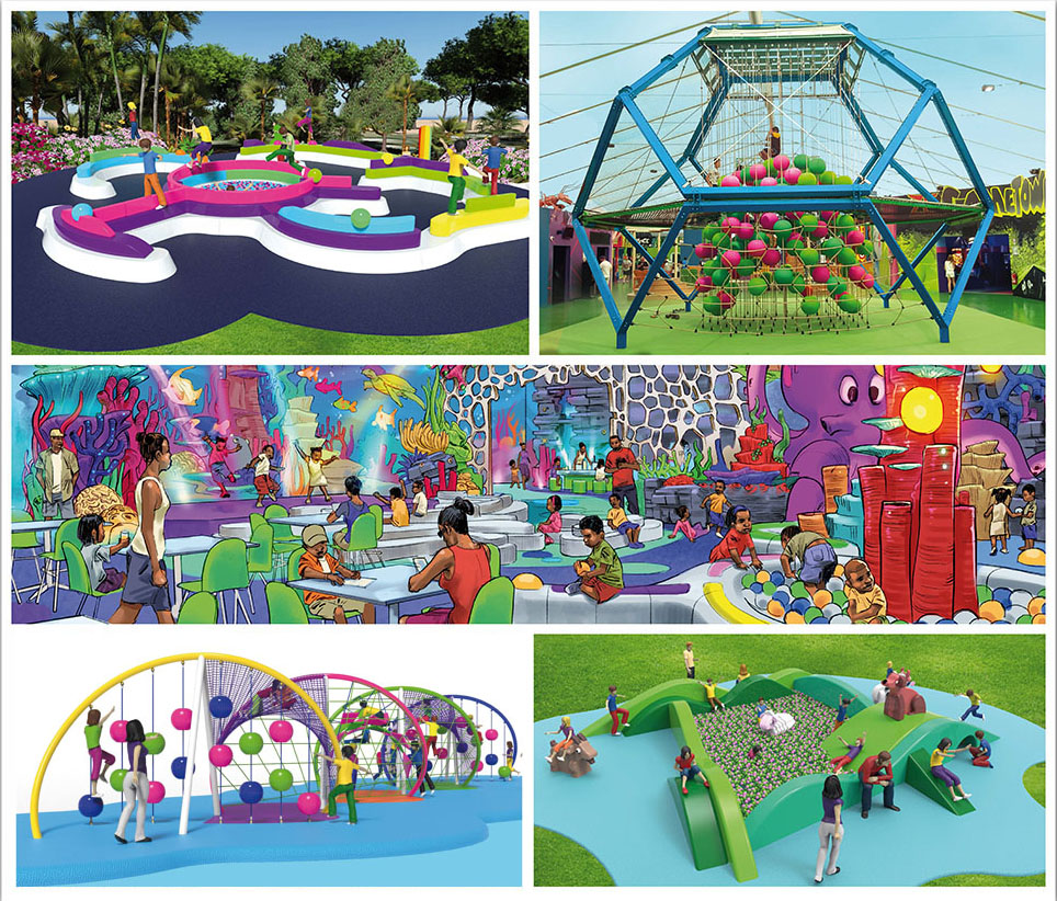 PlayLogic, new catalogue of children's playgrounds