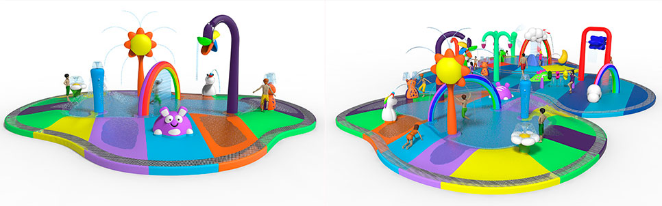 "Toon Land, the ""Plug & Play"" concept for aquatic leisure areas"