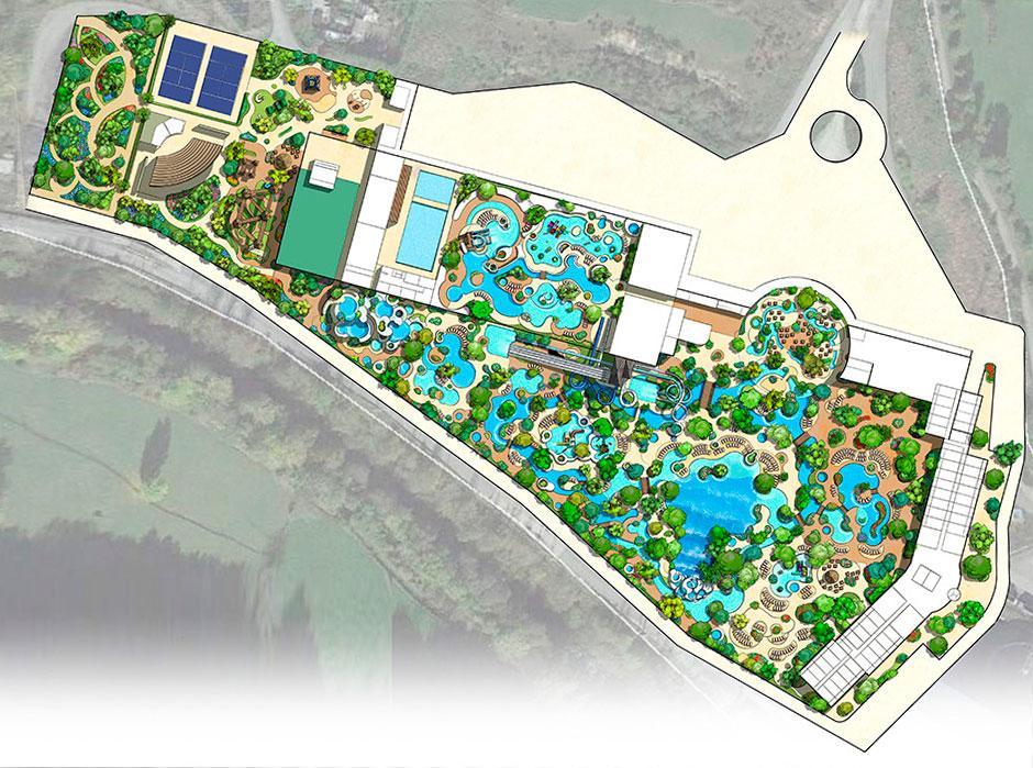 Diver Laciana, a new leisure project in Villablino, Leon, Spain