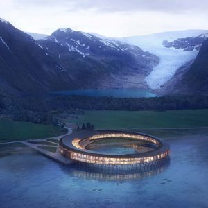 This impressive Arctic hotel will produce more energy than it consumes