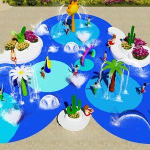 New splash pad project in Fuerteventura