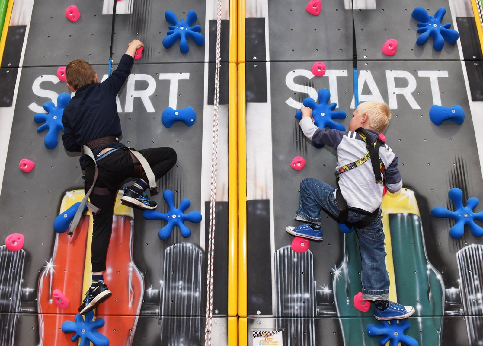 climb-boys-on-climbing-wall