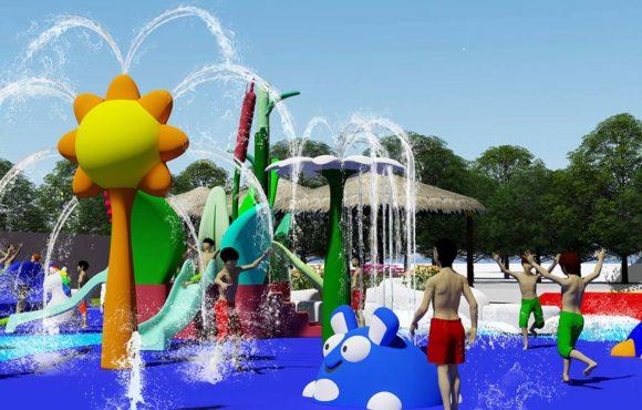 Splash Pad Cascavelle, Mauritius