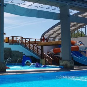 Opening of the new indoor waterpark in Camping Le Farret