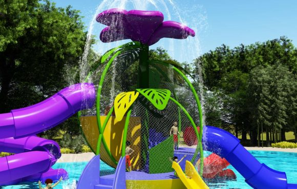 Adventure Flower, new interactive waterpark