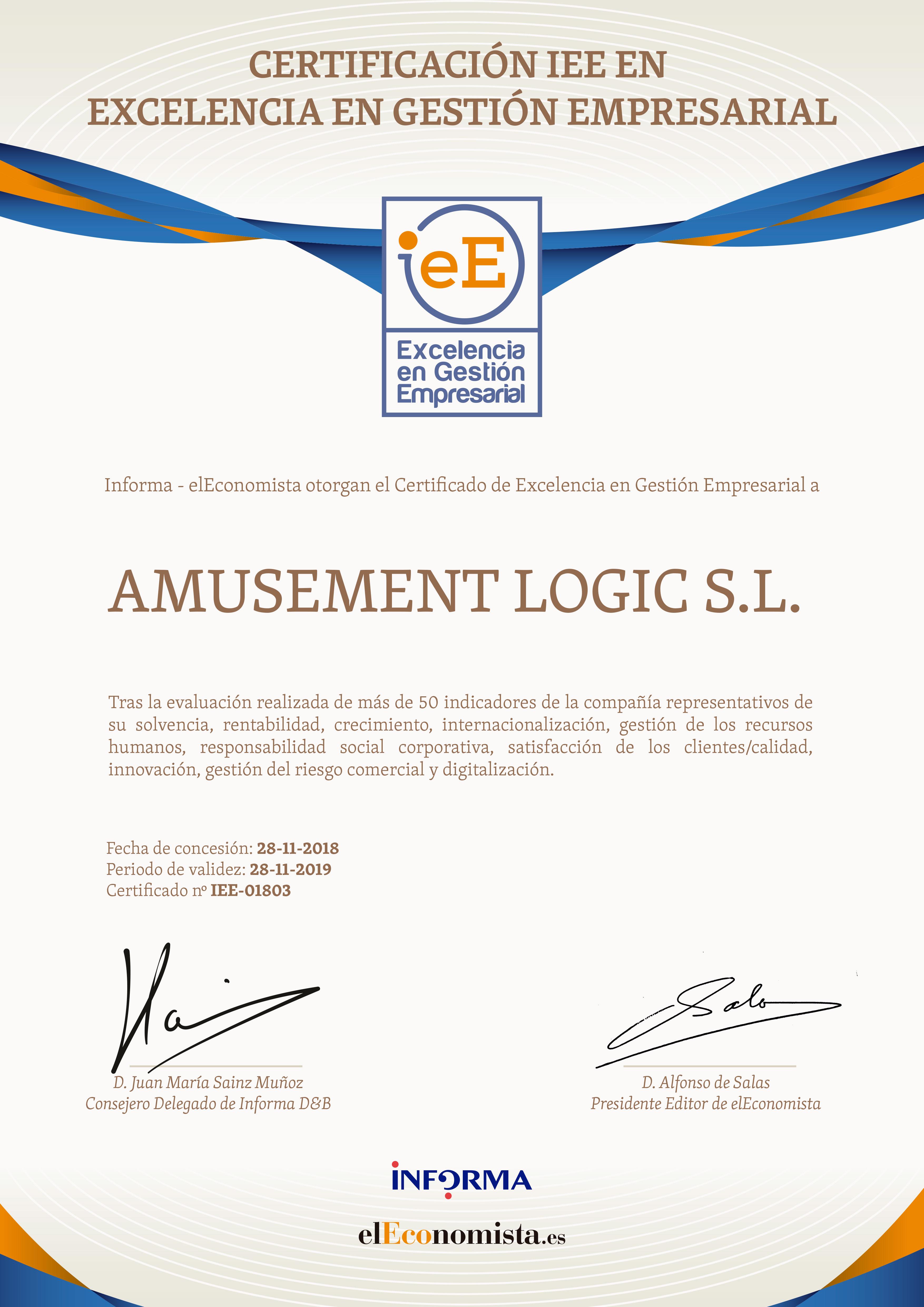 Certificado-IEE-01803_AMUSEMENT-LOGIC-SL-