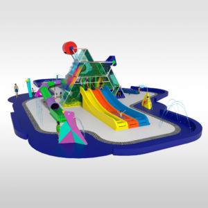 A new interactive water park: The Pyramyd