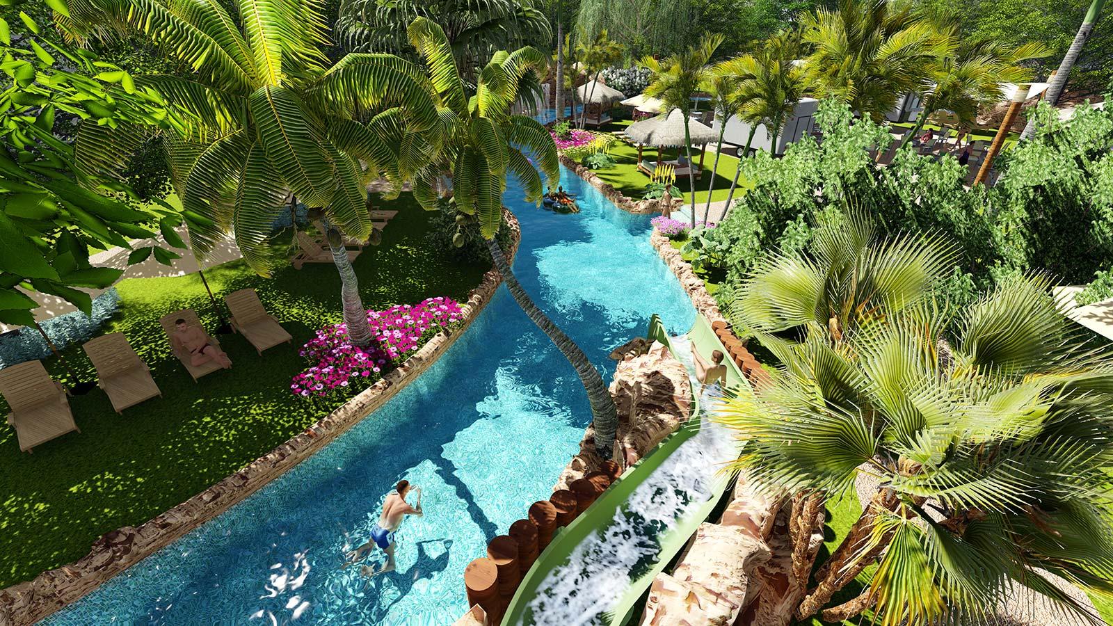 hotel caribe 3D