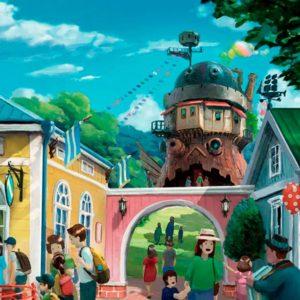 Inauguration of the Studio Ghibli theme park.
