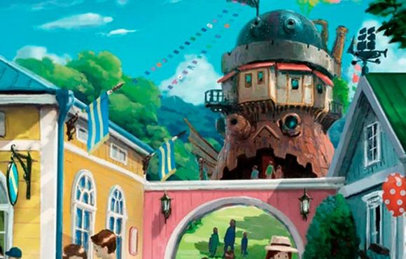 Inauguration of the Studio Ghibli theme park.