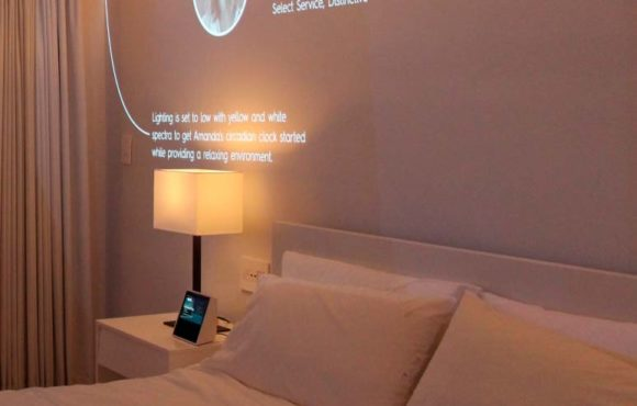 Smart rooms at the service of customer experience
