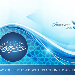 With our best wishes for Eid