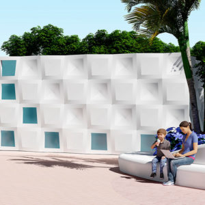 New modular system for façades: harmonic rhythm and structural regularity