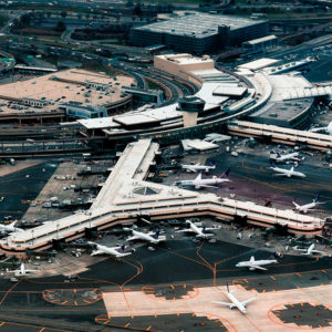 The five fastest growing airports in the world.