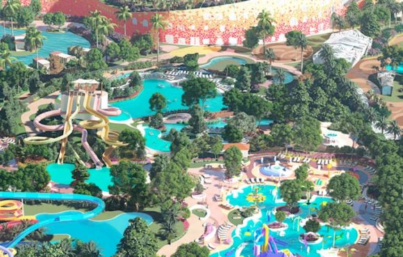 New hotel with waterpark for Côte d'Ivoire.