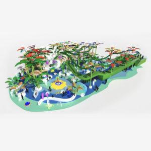Splash Track: aquatic adventure circuit.