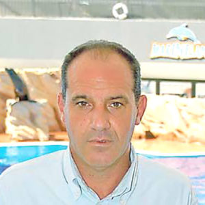 Pedro Codina, expat expert in park management.