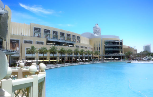 Shopping malls' response to a drop in footfall.