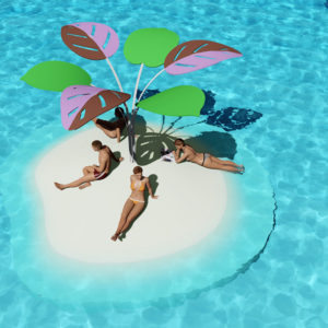 SandBank: Artificial islands for relaxing, sunbathing and playing.
