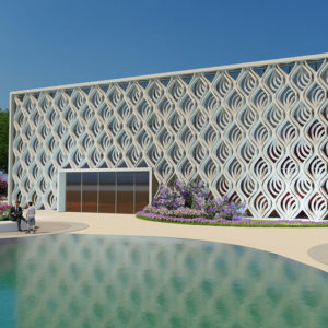 An architectural skin inspired by nature