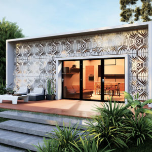 Customizable dynamic façade