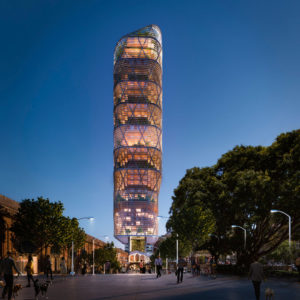 The world's tallest hybrid tower (+video)