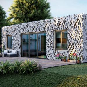 MagiCube Prefabricated Modular Housing, by Amusement Logic