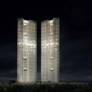 The world's highest prefabricated towers