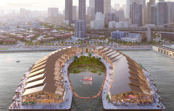 A floating ecopark in San Francisco