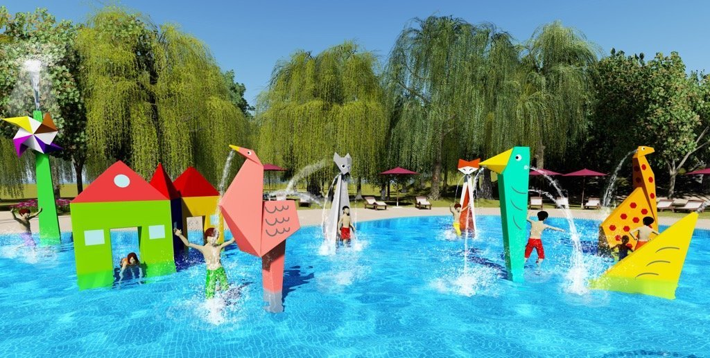 Origami water play 01