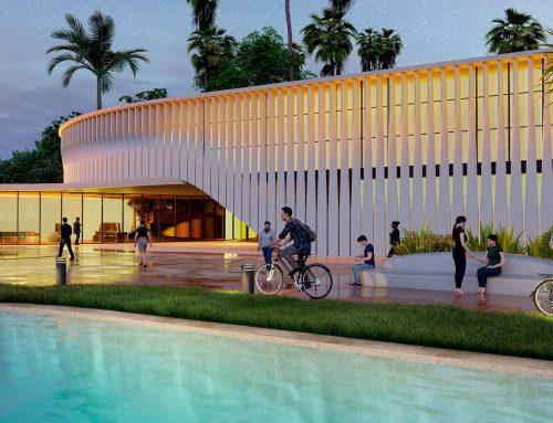 Clarity and concealment: new modular façade system