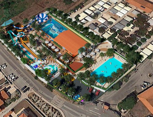 Waterpark in process: Camping Colina do Sol