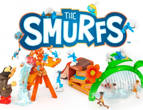 Bringing a new blue adventure: Smurf Splash Pad