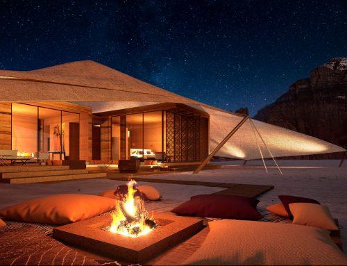 Glamping resort in Saudi Arabia, by Banyan Tree
